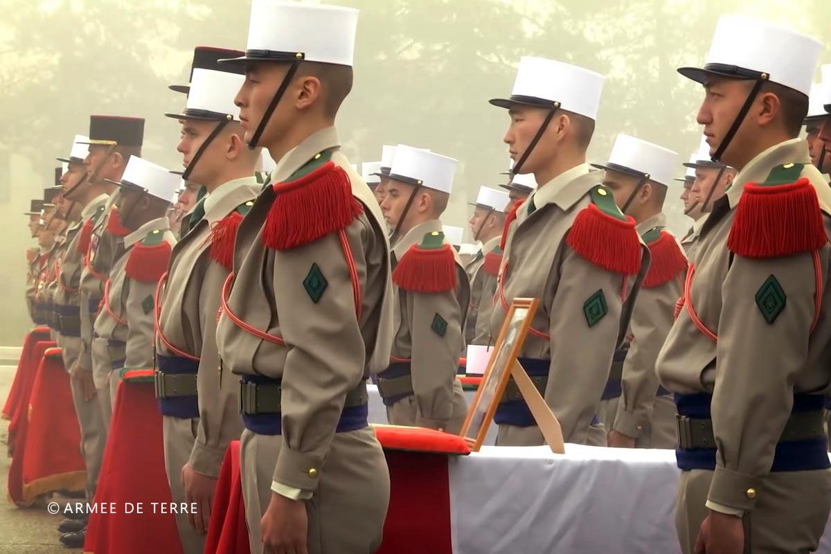 2e REG - 2 REG - Foreign Legion Etrangere - 2016 - Petit Argentier - Saint Christol - Homage