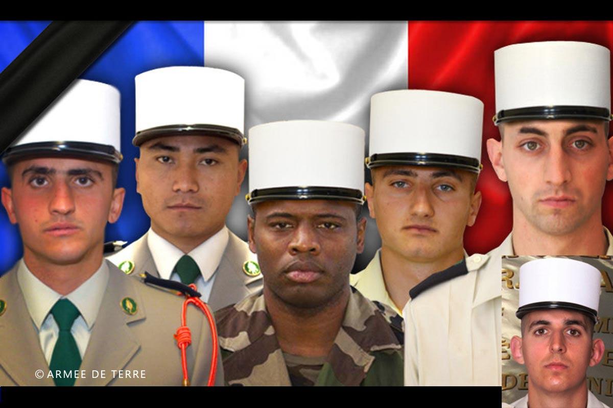 2e REG - 2 REG - Foreign Legion Etrangere - 2016 - Petit Argentier - Saint Christol - 6 killed legionnaires