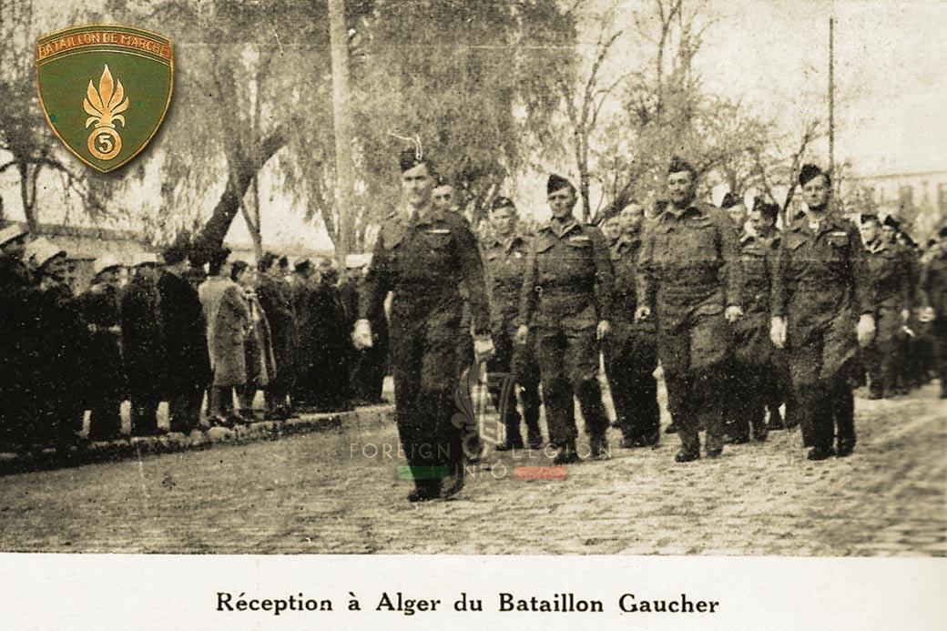 5e REI - 5 REI - BM 5 - Foreign Legion Etrangere - 1947 - Algeria