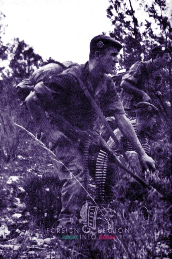 1er REP - 1 REP - Foreign Legion Etrangere - 1958 - Algeria