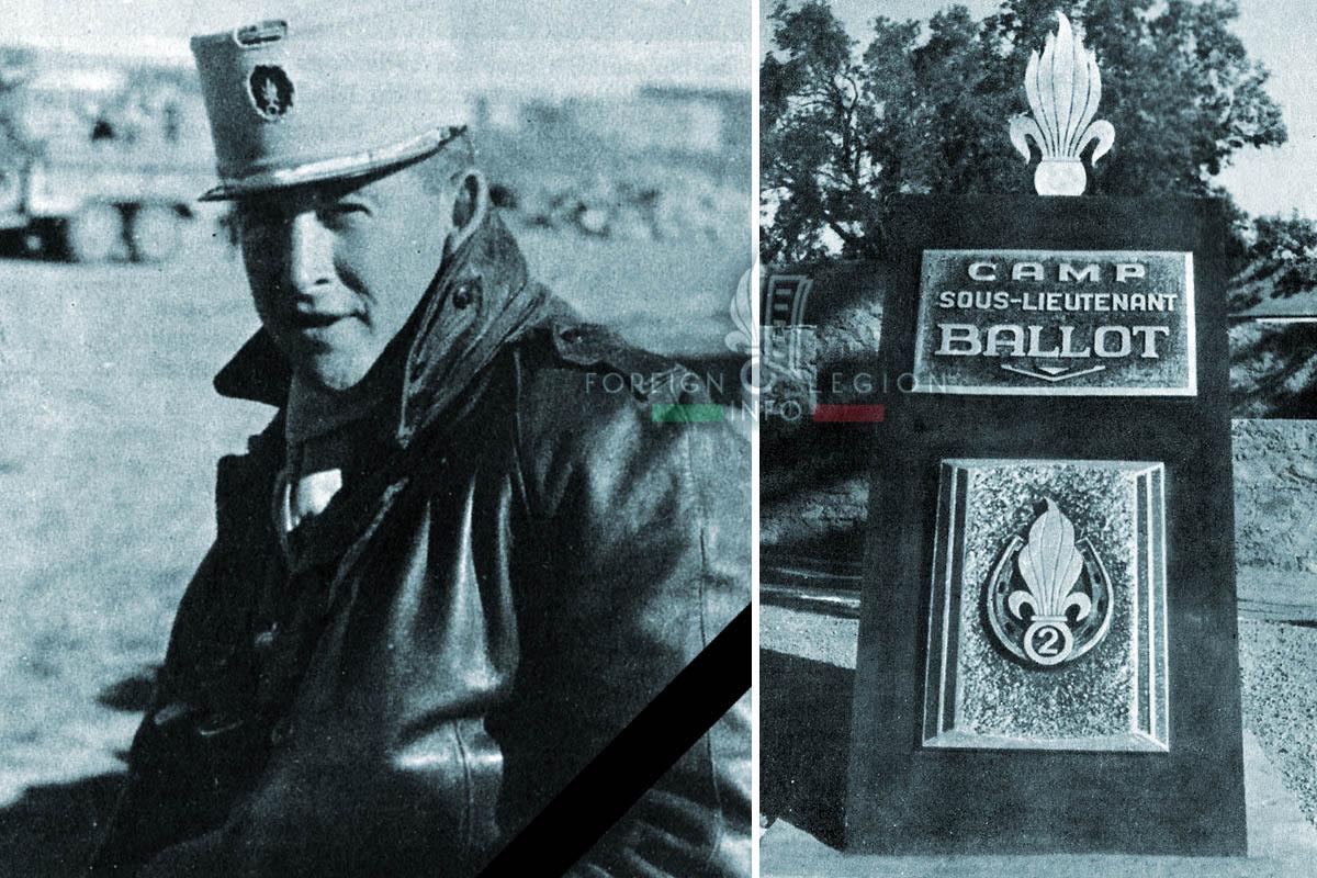 2e REI - 2 REI - Jean Ballot - Foreign Legion Etrangere - 1958 - Algeria