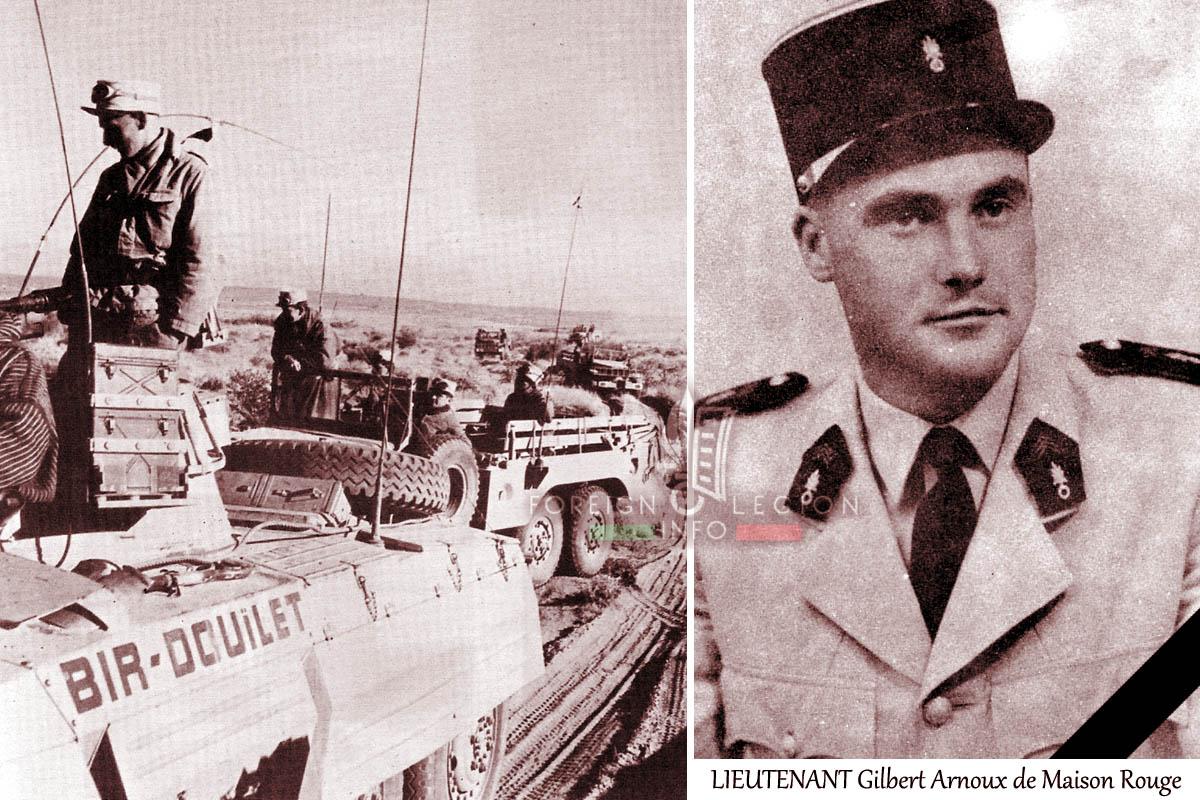 2e REI - 2 REI - Lieutenant Gilbert Arnoux de Maison Rouge - Foreign Legion Etrangere - 1958 - Algeria