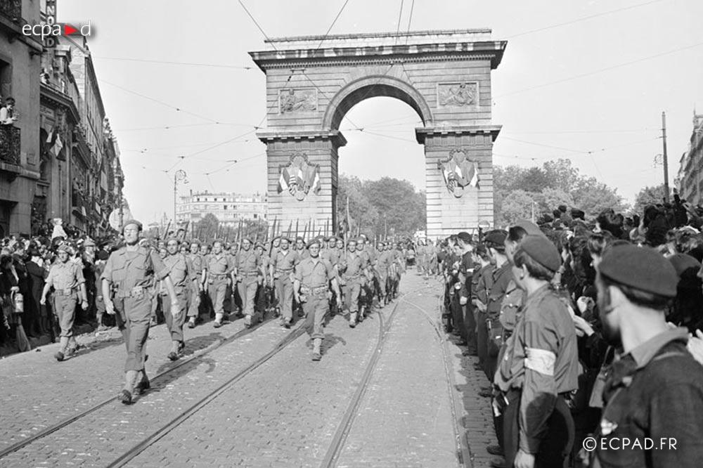 13e DBLE - 13 DBLE - Foreign Legion Etrangere - 1944 - Dijon - France