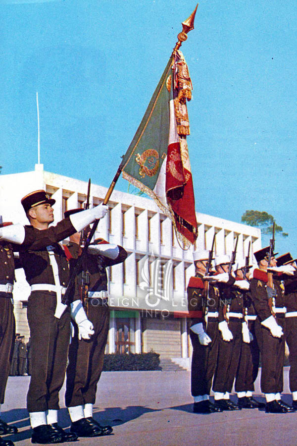 2e REI - 2 REI - Foreign Legion Etrangere - 1968 - Aubagne - France