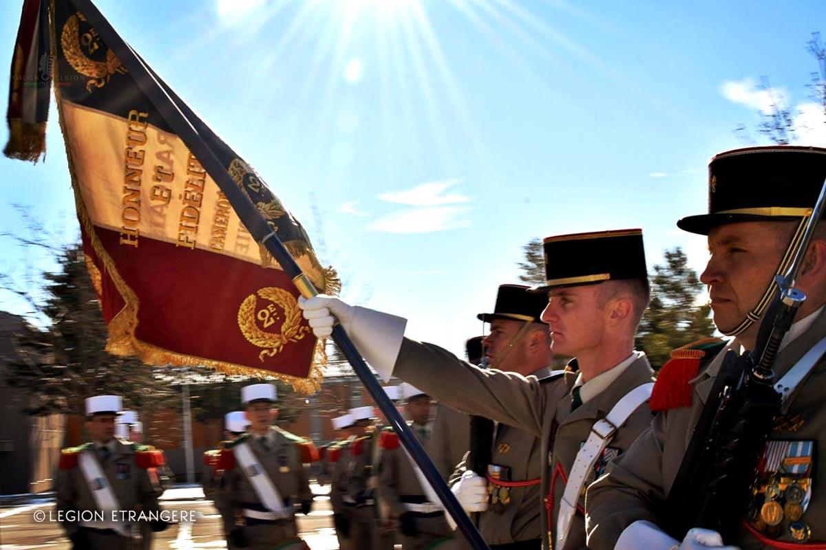 2e REG - 2 REG - Foreign Legion Etrangere - 2017 - France