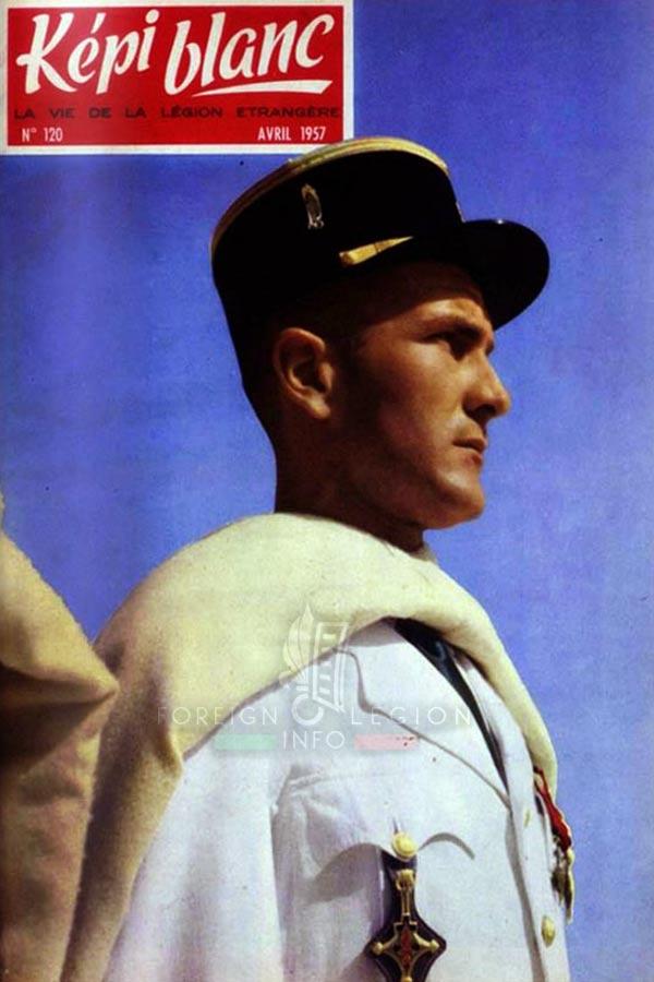 3e CSPL - 3 CSLE - Foreign Legion Etrangere - 1957 - lieutenant