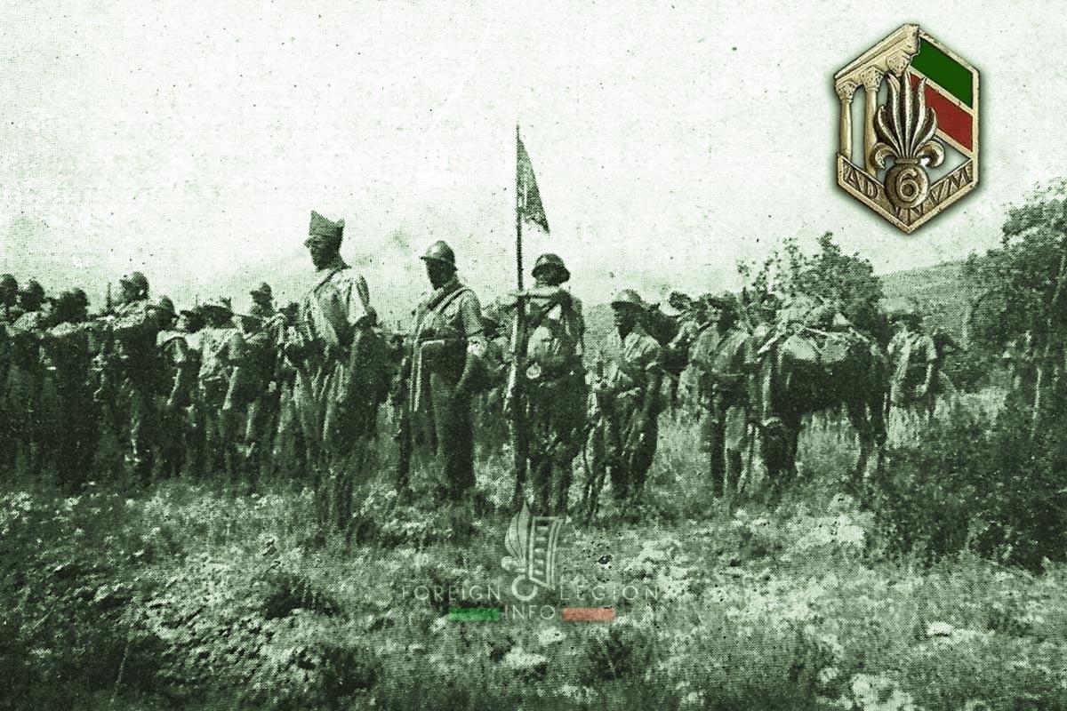6e REI - 6 REI - Foreign Legion Etrangere - 1941 - Damour - Lebanon