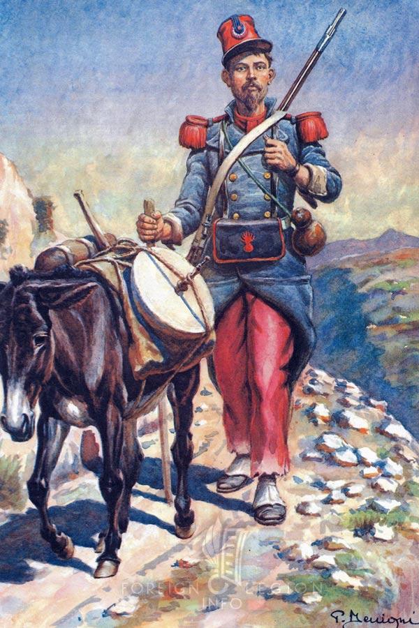 legionnaire - Foreign Legion Etrangere - 1842 - Algeria