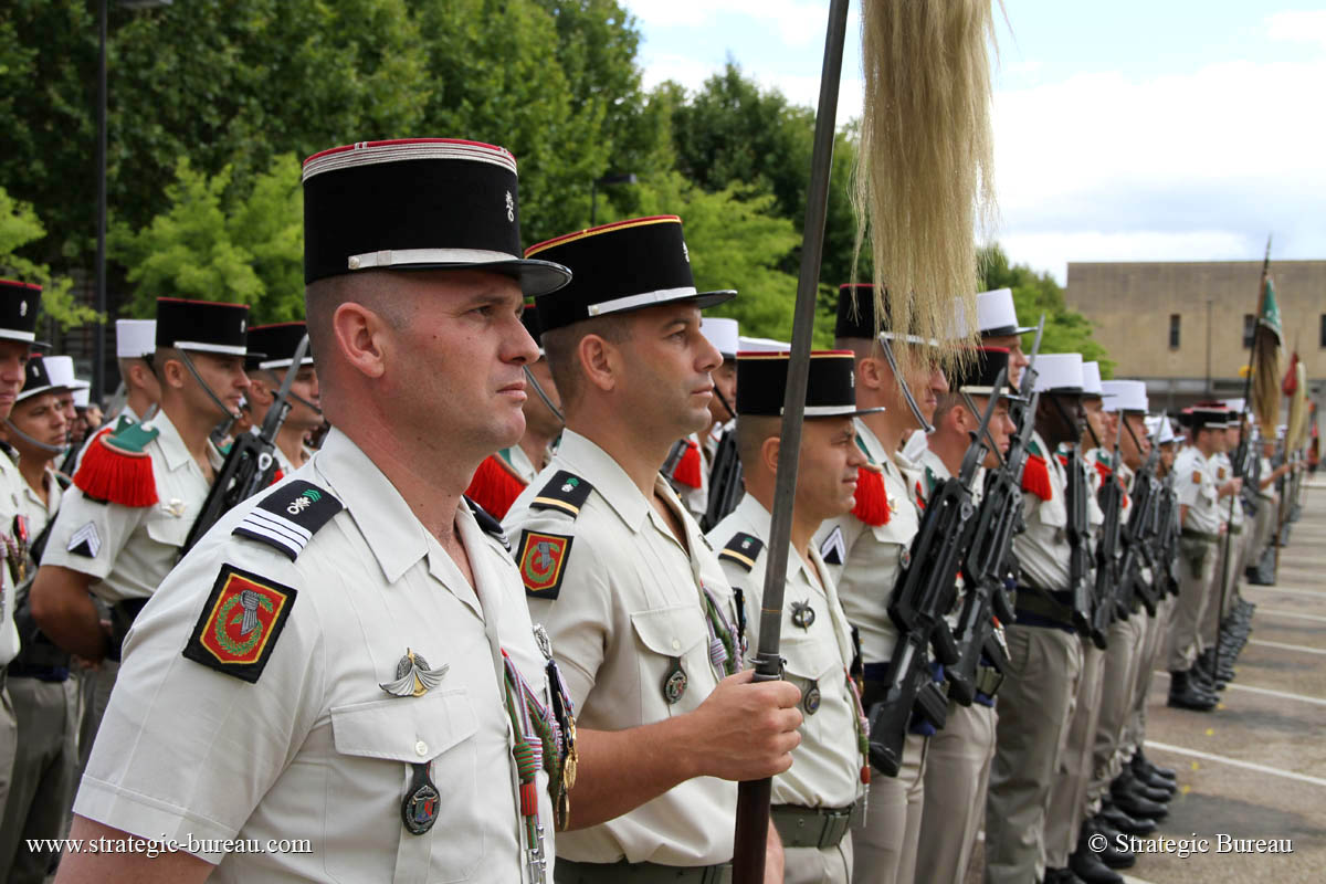 1er REC - 1 REC - Foreign Legion Etrangere - 2014 - Orange - France