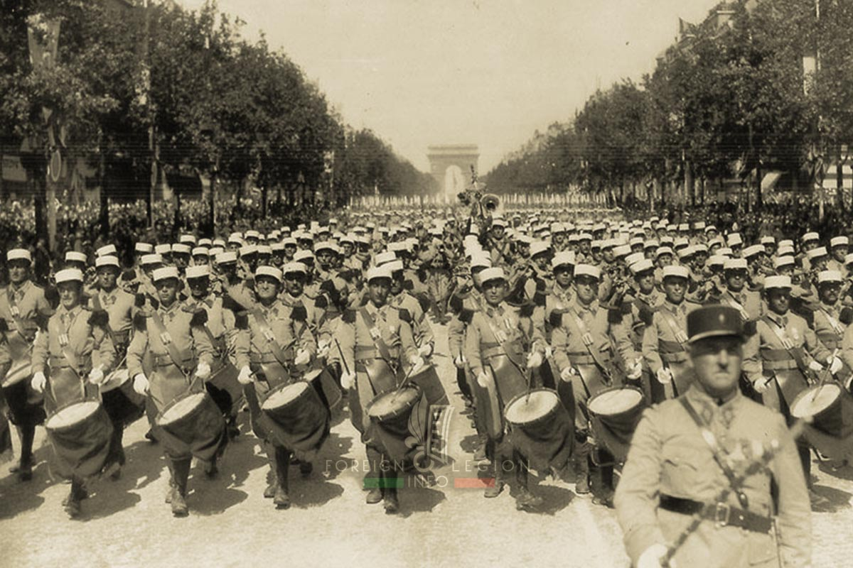 Bastille Day - Legionnaires - Foreign Legion Etrangere - 1939 - Paris - France
