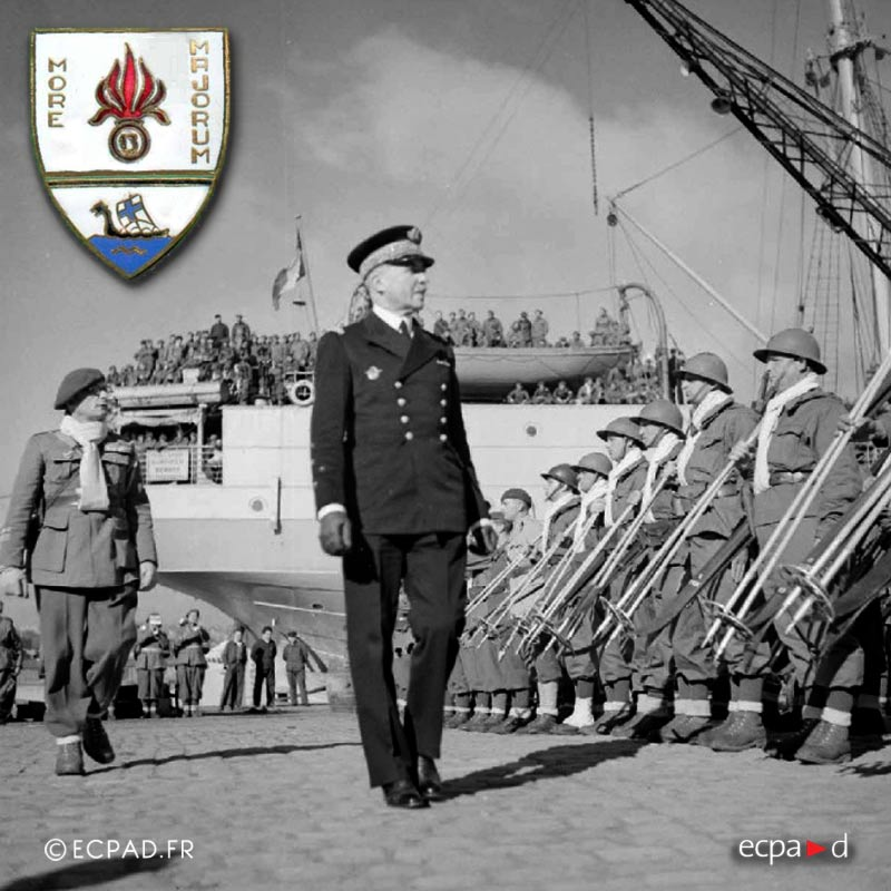 13e DBMLE - 13 DBMLE - Foreign Legion Etrangere - 1940 - Brest