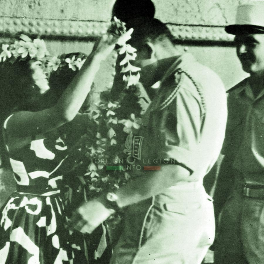 5e REI - 5 REI - Foreign Legion Etrangere - 1963 - Tahiti