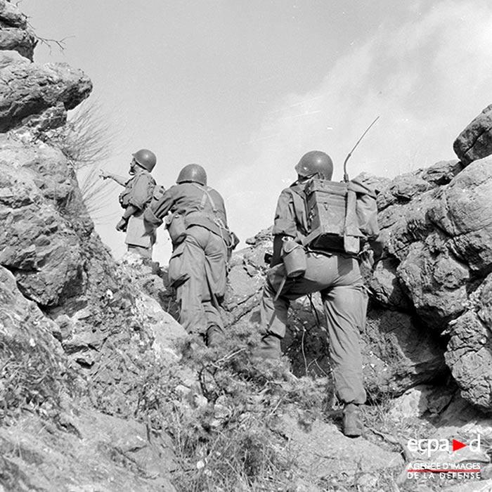 3e BEP - 3 BEP - Foreign Legion Etrangere - 1955 - Algeria