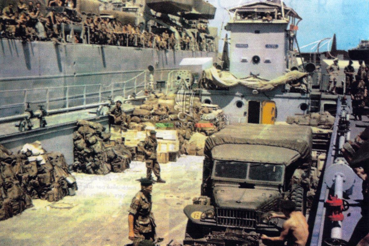 3e REI - 3 REI - Foreign Legion Etrangere - 1961 - Bizerte Crisis - Tunisia