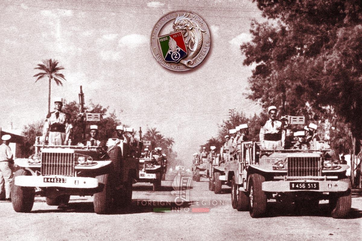 2e REC - 2 REC - Foreign Legion Etrangere - 1957 - Algeria