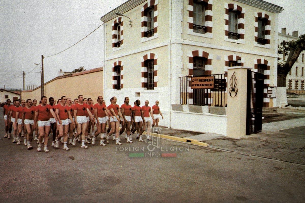 4e RE - 4 RE - Foreign Legion Etrangere - 1980 - Castelnaudary - Lapasset - France