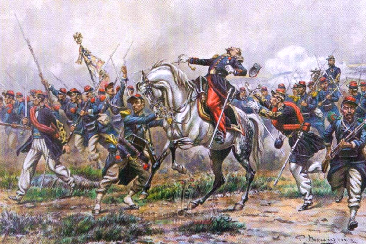 Battle of Magenta - Colonel De Chabrières - Foreign Legion Etrangere - 1859 - Pierre Benigni
