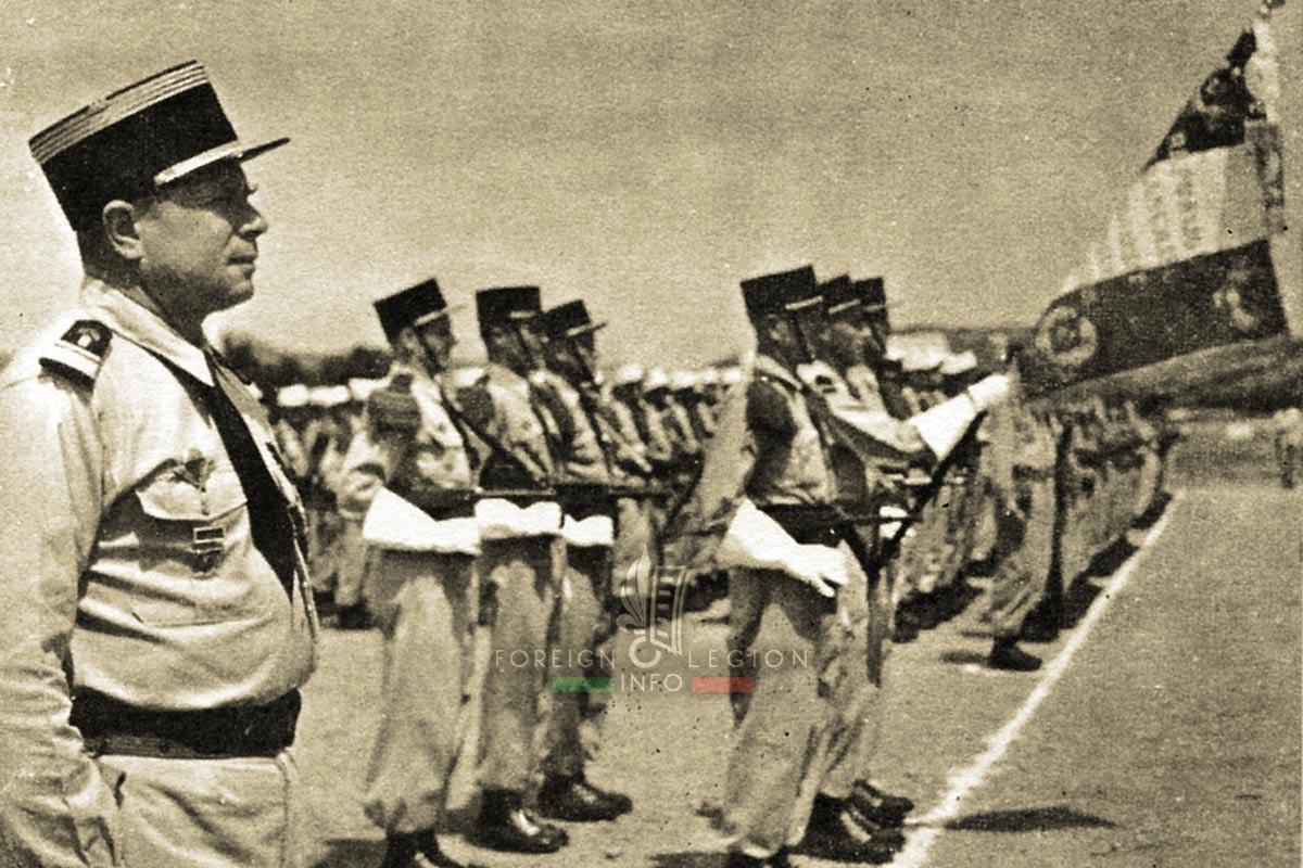 2e REP - 2 REP - Foreign Legion Etrangere - 1956 - Masselot - Algeria