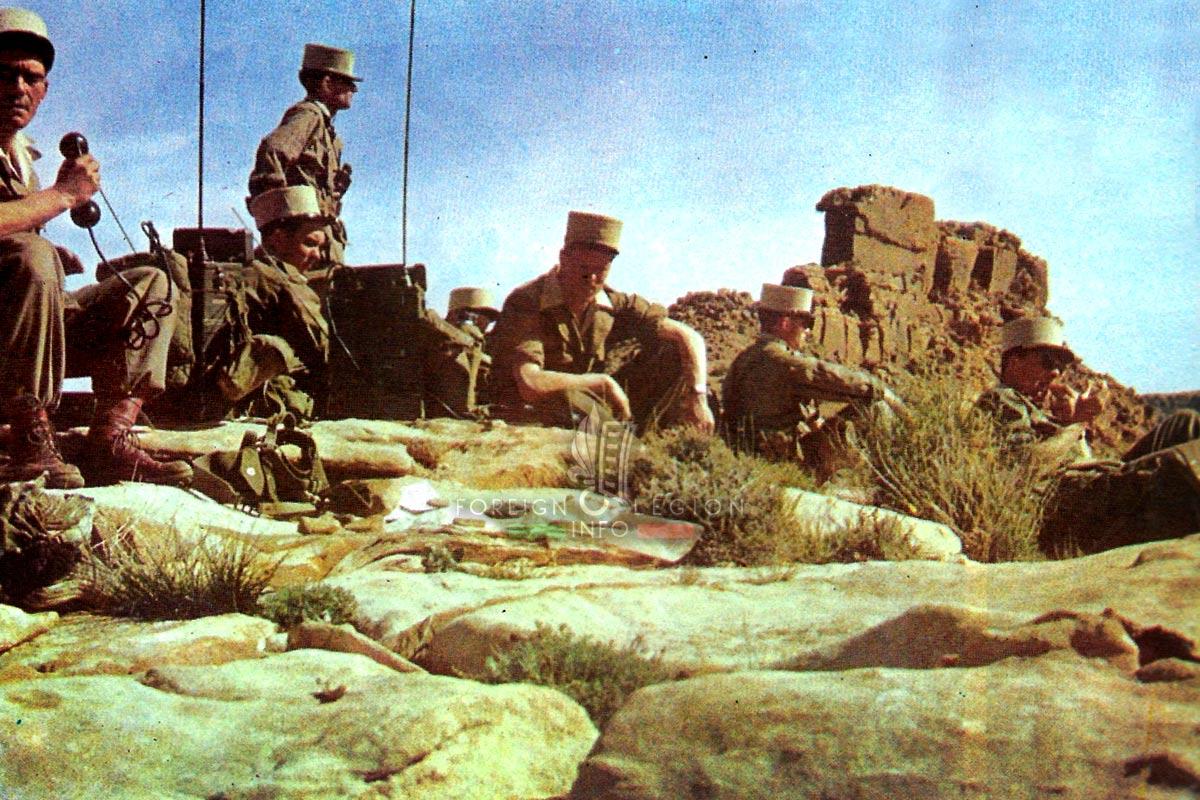 2e REI - 2 REI - Foreign Legion Etrangere - 1959 - Algeria