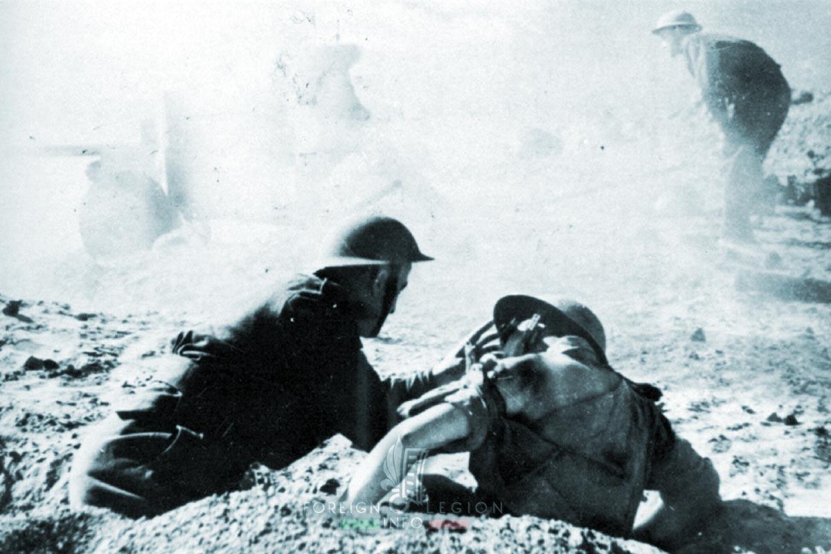 Bir Hakeim - Foreign Legion Etrangere - 1942 - Libya