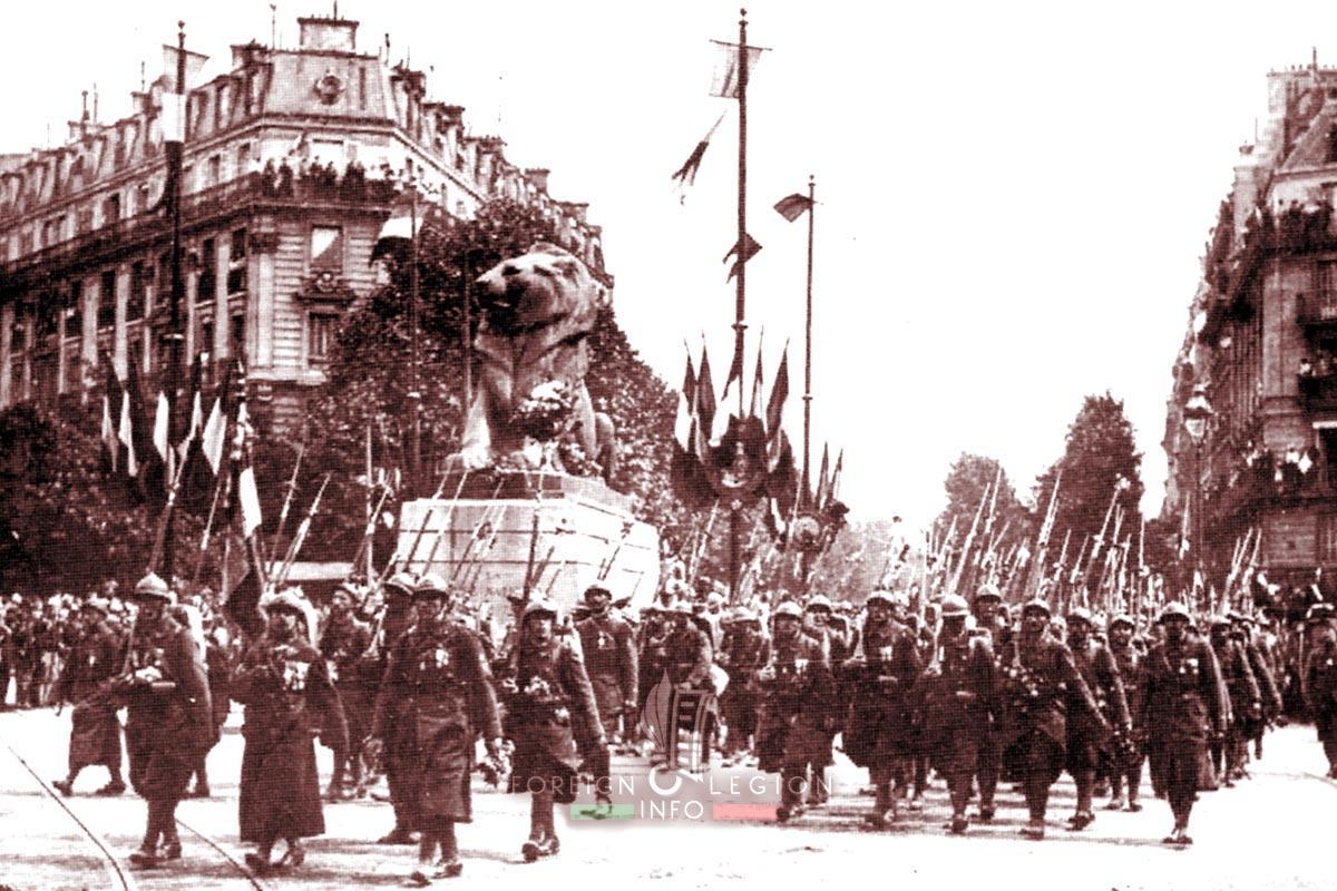 RMLE - Foreign Legion Etrangere - 1917 - Paris