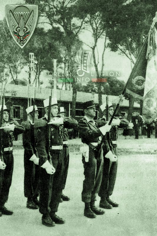 1er REP - 1 REP - Foreign Legion Etrangere - 1957 - Zeralda - Algeria