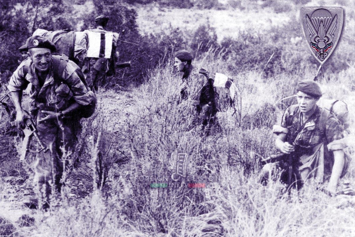 1er REP - 1 REP - Foreign Legion Etrangere - 1957 - Algeria