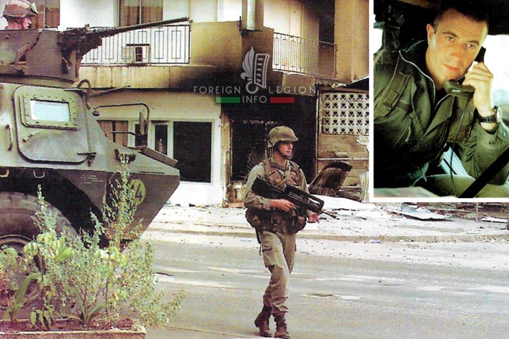 2e REP - 2 REP - Foreign Legion Etrangere - 1997 - Operation Pelican - Brazzaville - Republic of the Congo