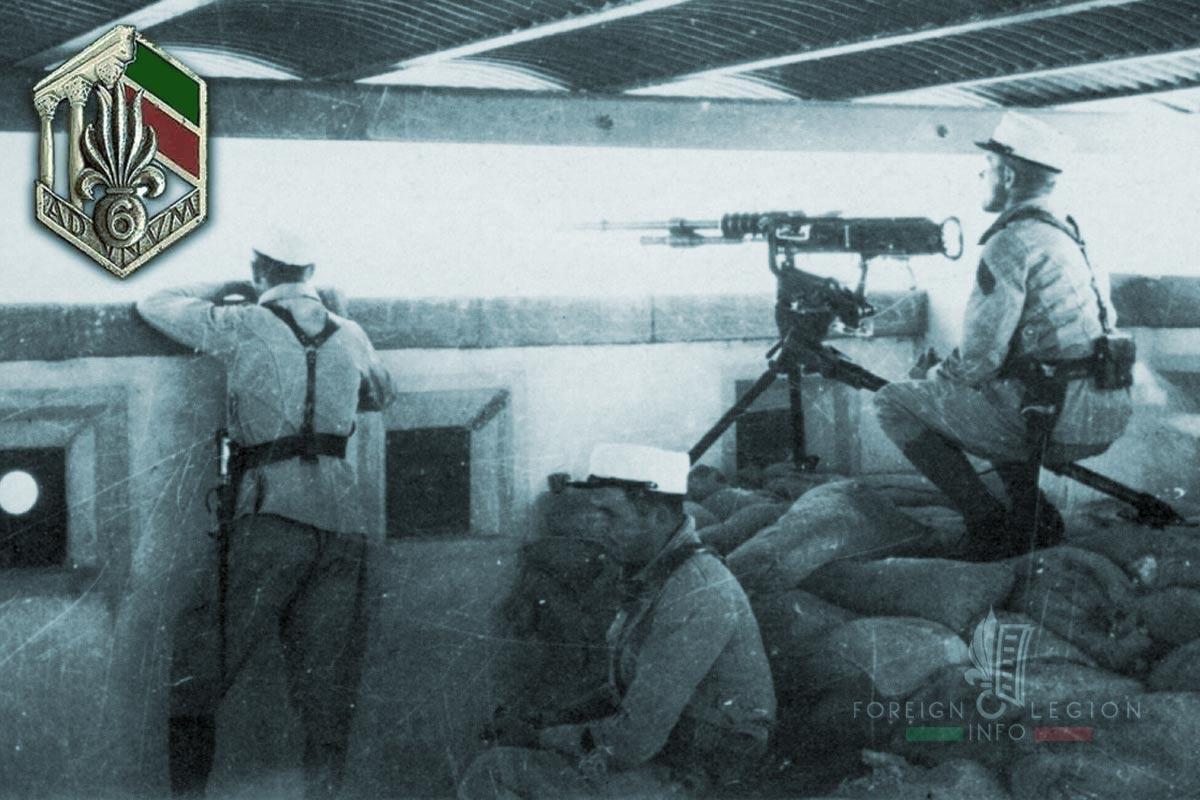 6e REI - 6 REI - Foreign Legion Etrangere - 1940 - Syria - Levant