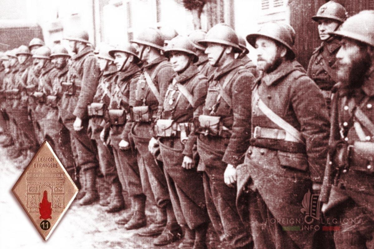 11e REI - 11 REI - Foreign Legion Etrangere - 1939 - La Valbonne - France