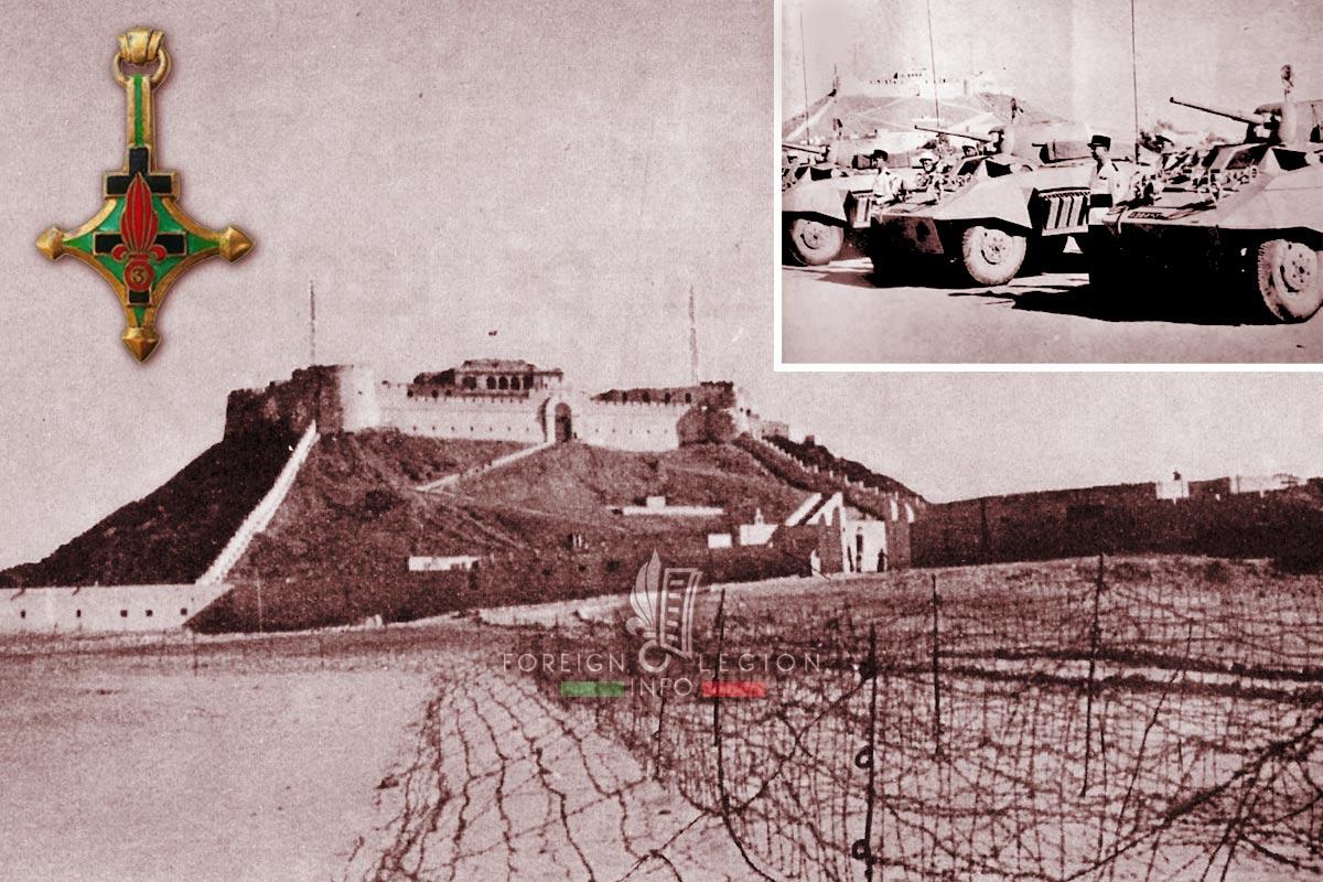 3e CSPL - 3 CSPL - Foreign Legion Etrangere - 1950s - Fort Leclerc - Libya