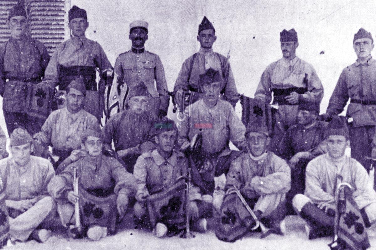1er REC - 1 REC - Foreign Legion Etrangere - 1922 - Sousse - Tunisia