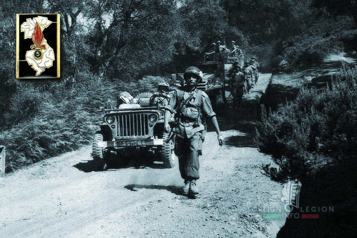 5e REI - 5 REI - Foreign Legion Etrangere - 1957 - Algeria
