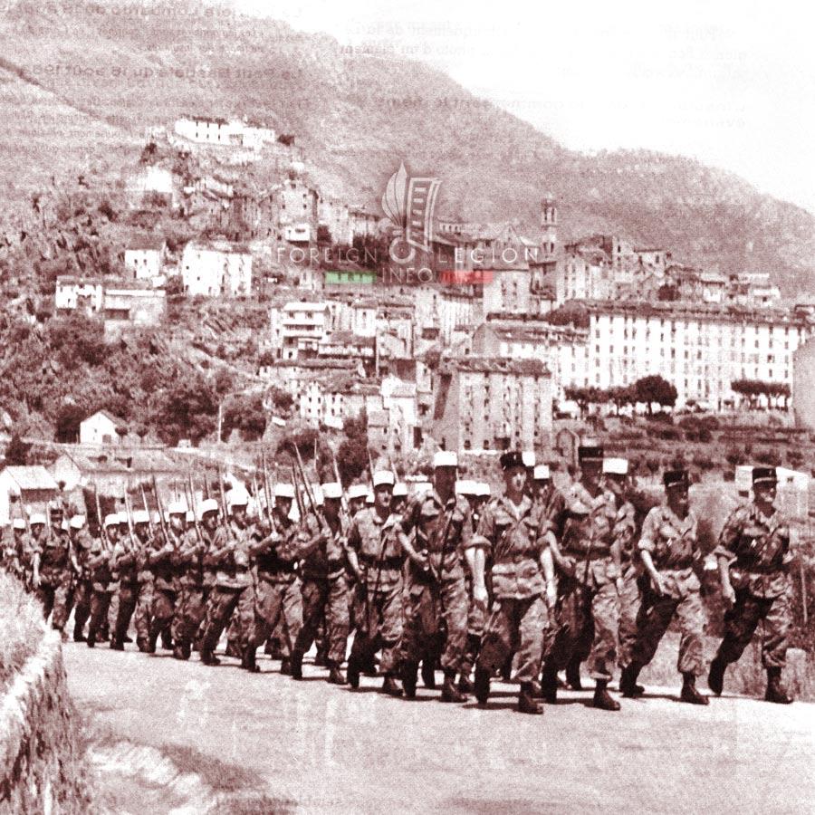 GILE - Foreign Legion Etrangere - 1962 - Corsica