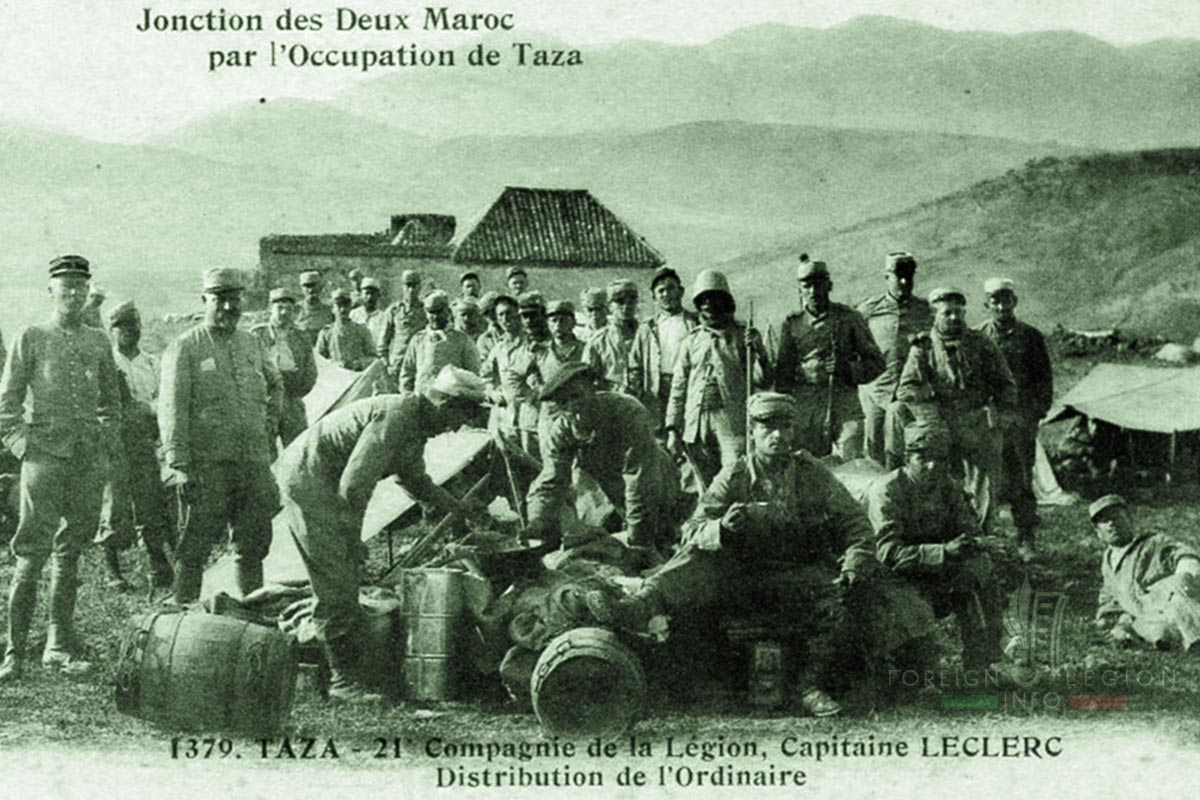 1er RE - 1 RE - Foreign Legion Etrangere - 1910s - Morocco
