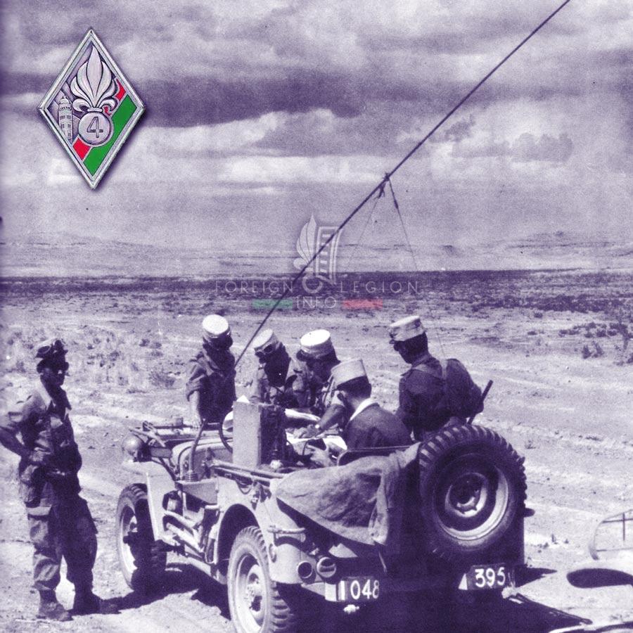 4e REI - 4 REI - Foreign Legion Etrangere - 1958 - Algeria