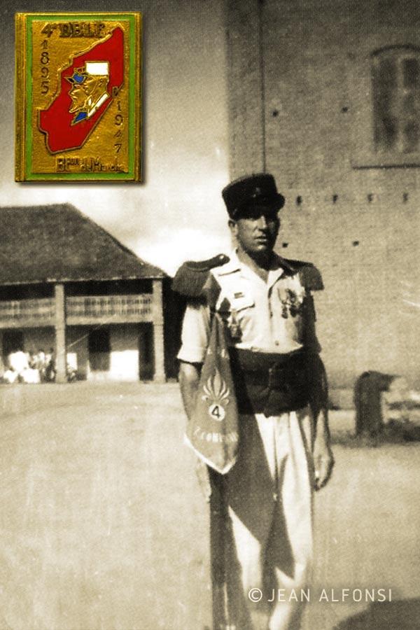 4e DBLE - 4 DBLE - Foreign Legion Etrangere - 1950 - Madagascar