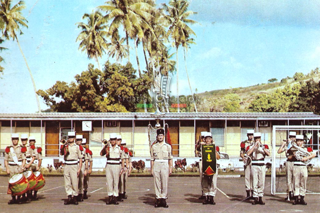 5e RMP - 5 RMP - Foreign Legion Etrangere - 1969 - Tahiti
