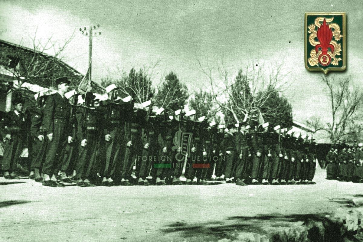 2e REI - 2 REI - Foreign Legion Etrangere - 1956 - Morocco