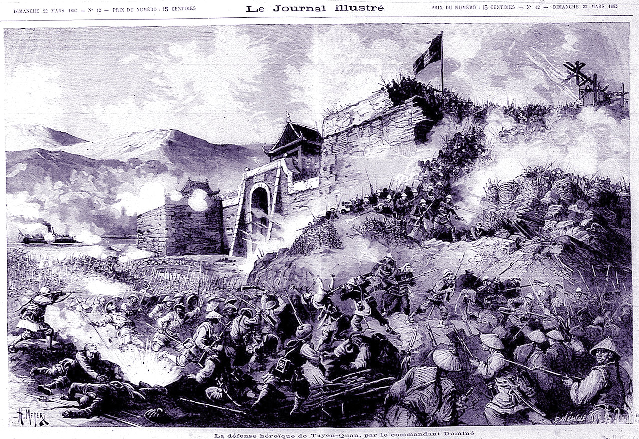 Siege of Tuyen Quang  - Foreign Legion Etrangere - 1885