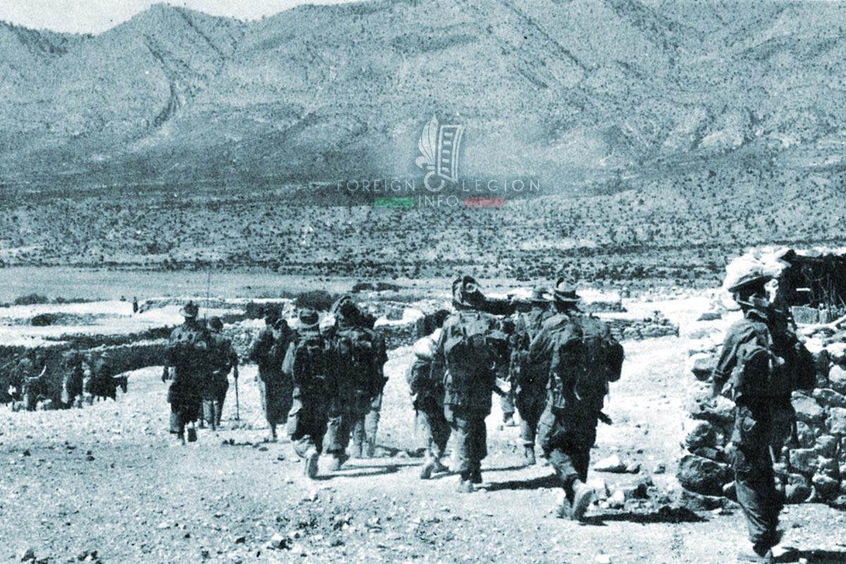 3e REI - 3 REI - Foreign Legion Etrangere - 1956 - Algeria
