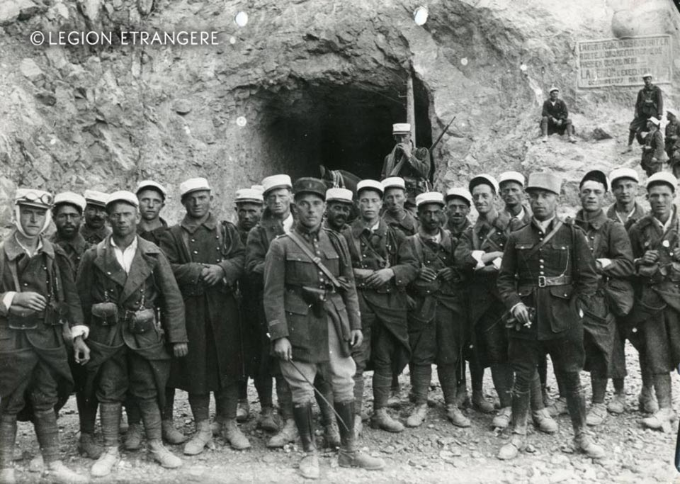 3e REI - 3 REI - Foreign Legion Etrangere - Foum Zabel Tunnel - Tunnel of Legionnaire - 1928
