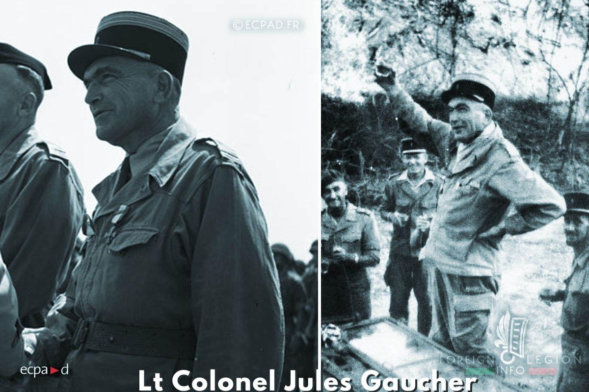 13e DBLE - 13 DBLE - Foreign Legion Etrangere - 1954 - Dien Bien Phu - Lt Colonel Jules Gaucher