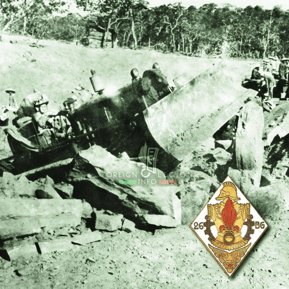 26e BG - 26 BG - Foreign Legion Etrangere - Indochina