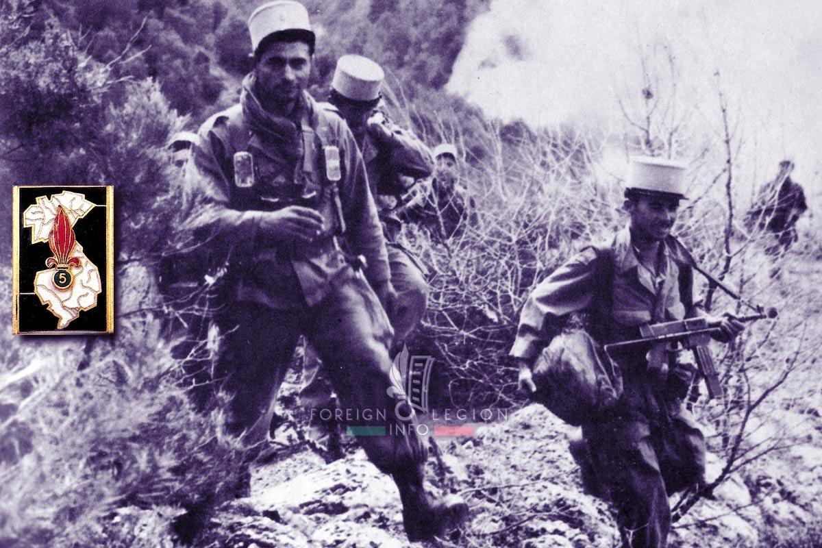 5e REI - 5 REI - Foreign Legion Etrangere - 1959 - Algeria