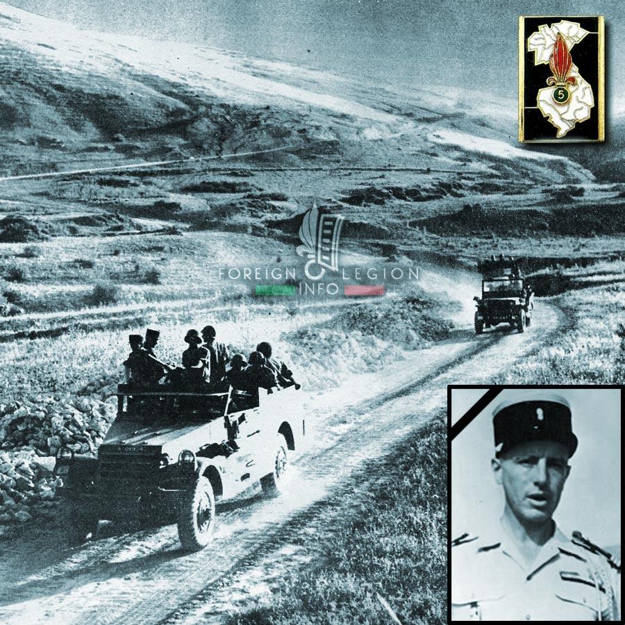 5e REI - 5 REI - René Cozette - Foreign Legion Etrangere - 1956 - Algeria