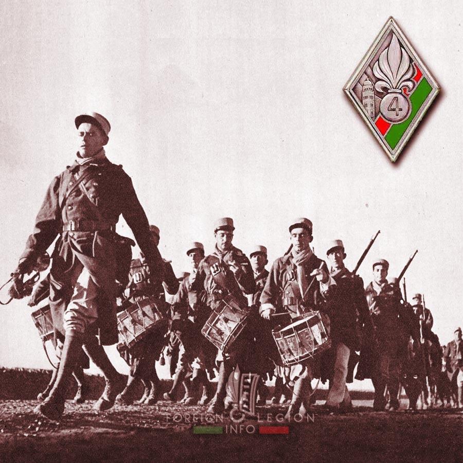 4e REI - 4 REI - Foreign Legion Etrangere - 1938 - Morocco