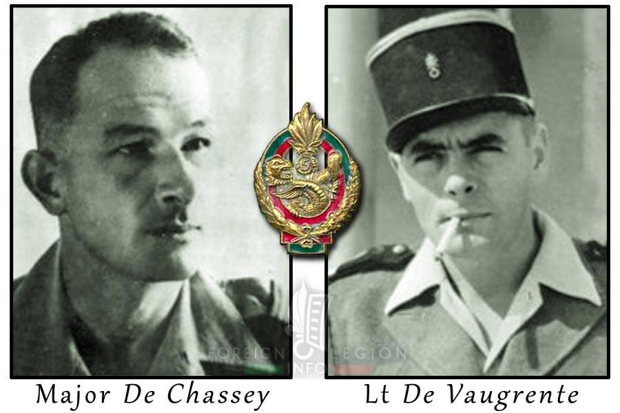Pierre de Buretel de Chassey - Lieutenant Guy de Vaugrente - 5e REI - 5 REI - Foreign Legion Etrangere - 1954 - Laos