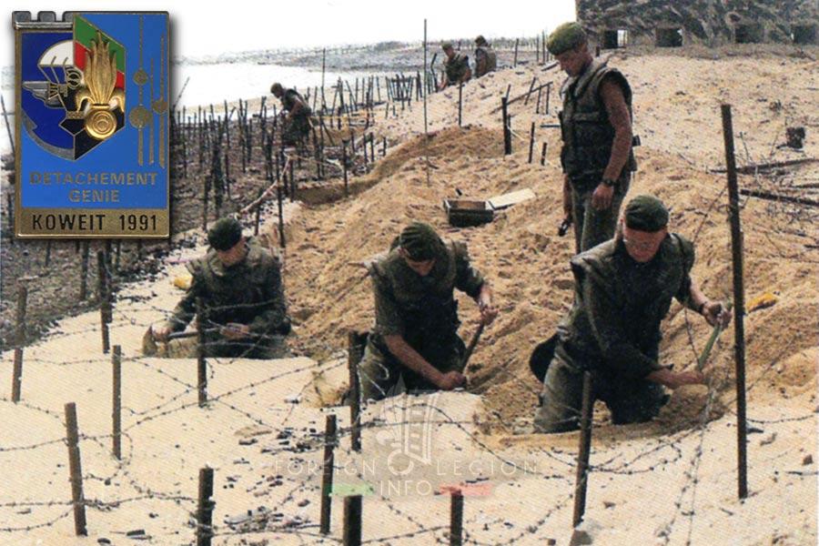 6e REG - 6 REG - Foreign Legion Etrangere - 1991 - Kuwait