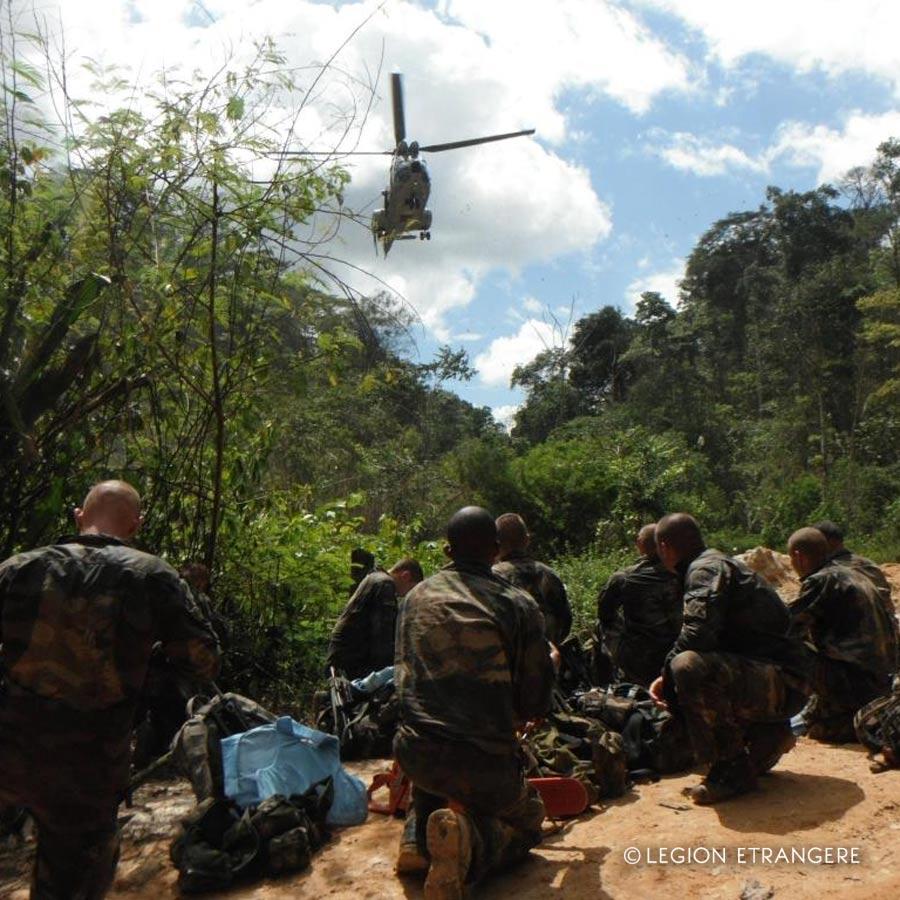 3e REI - 3 REI - Foreign Legion Etrangere - 2013 - French Guiana